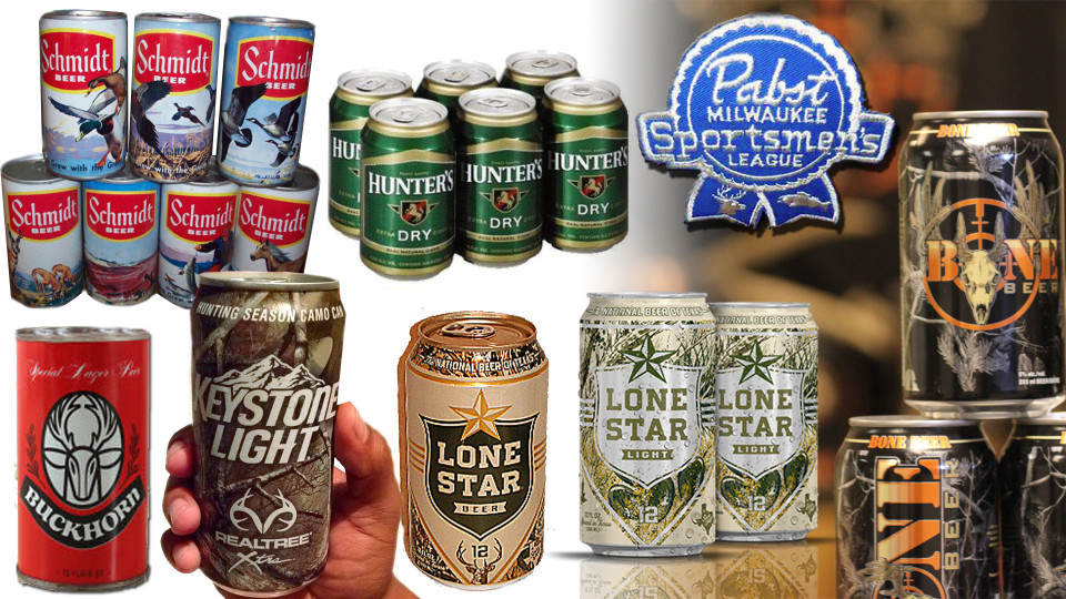 Camo Hunting Cans