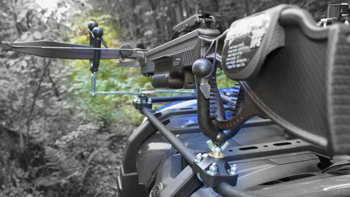 Four Wheeler Crossbow Rack